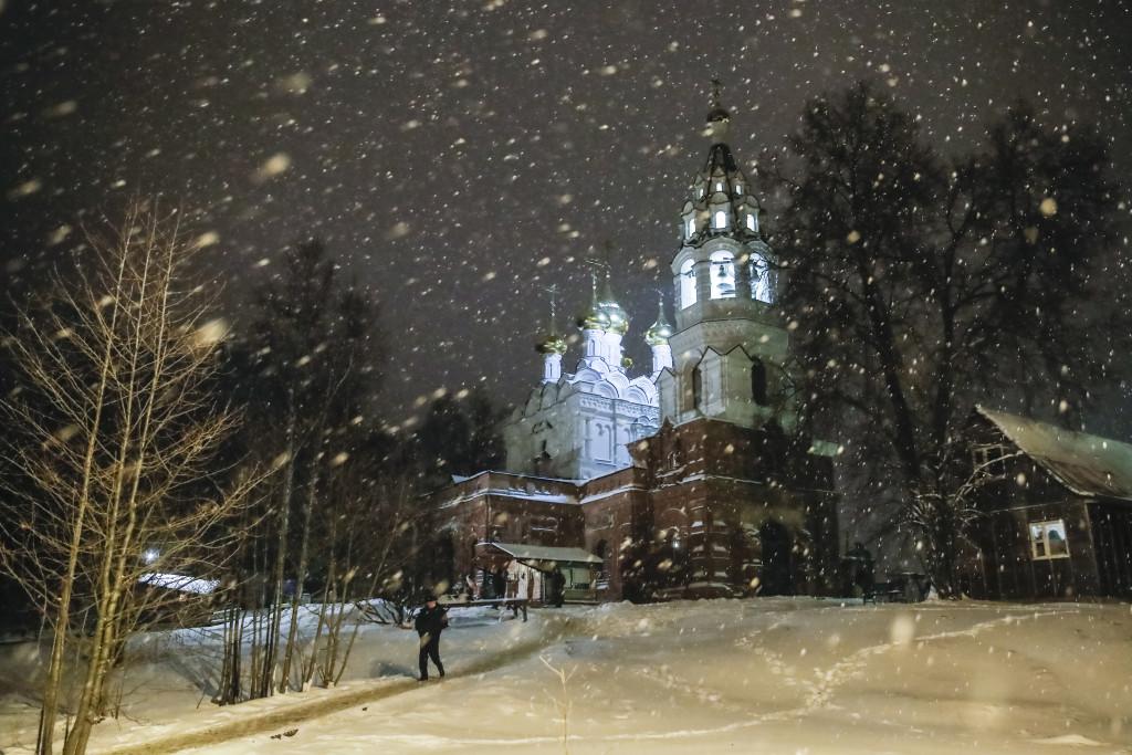 Троицкий храм с. Драчево, Мытищинский район, 1900 год
